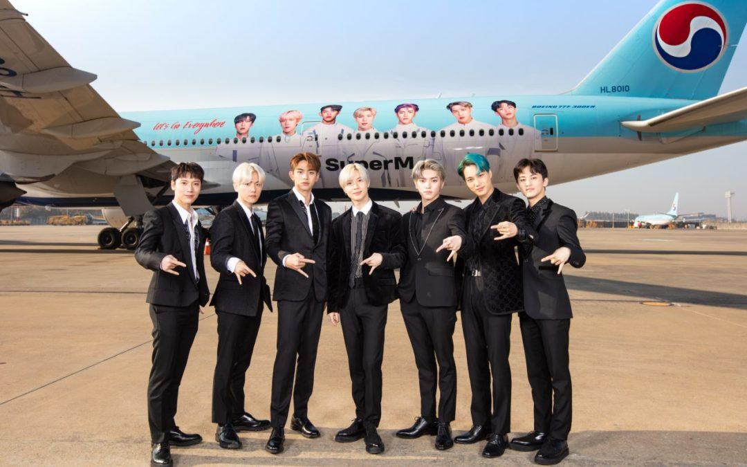 Pop-Gruppe SuperM wird globaler Botschafter von Korean Air