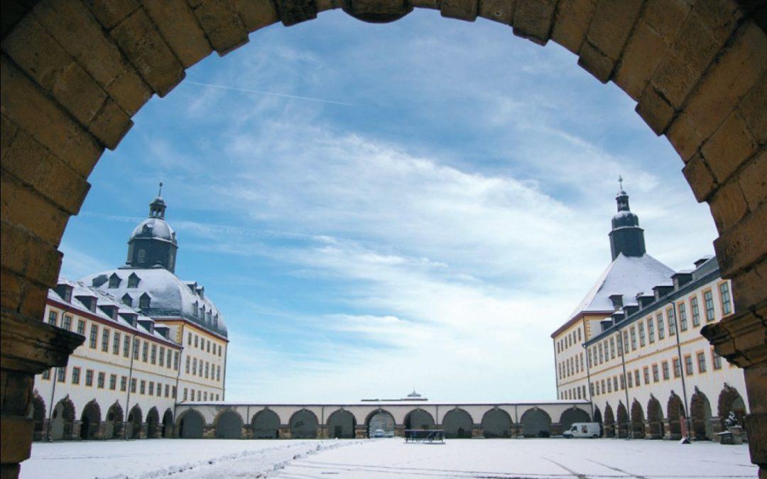 Erstmals Weihnachtsmarkt auf Schloss Friedenstein in Gotha