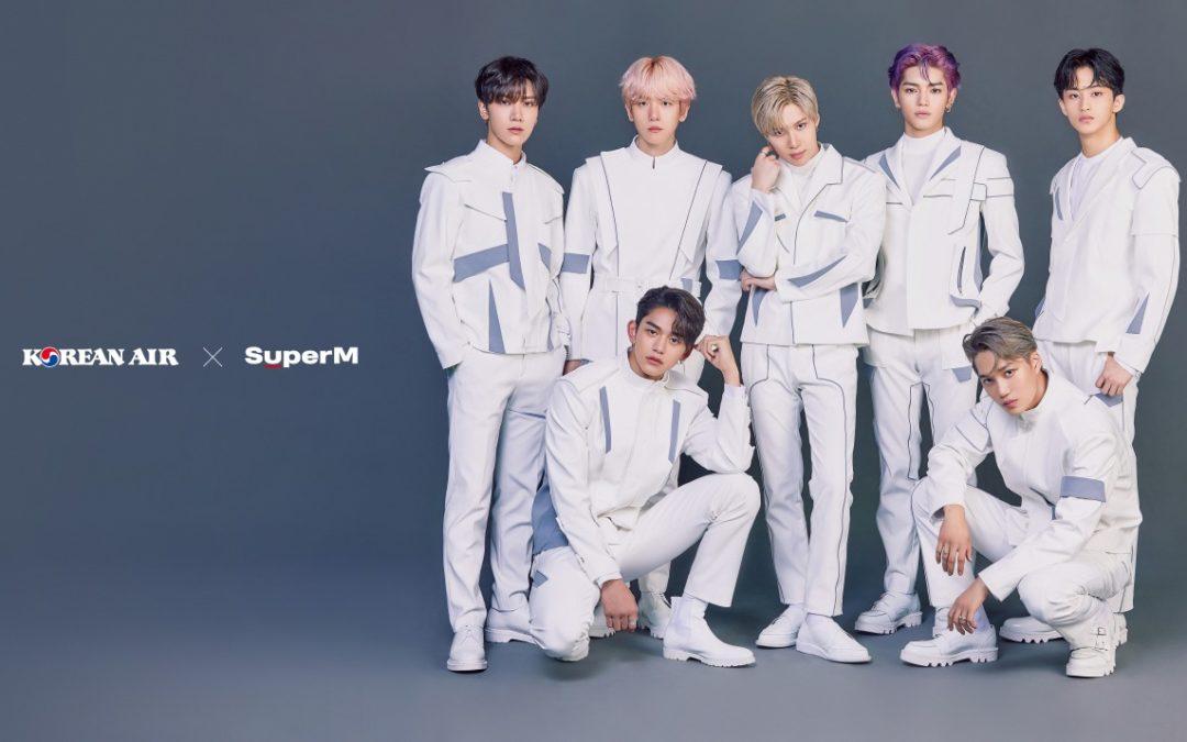 Neues Sicherheitsvideo von Korean Air mit K-PopGruppe SuperM