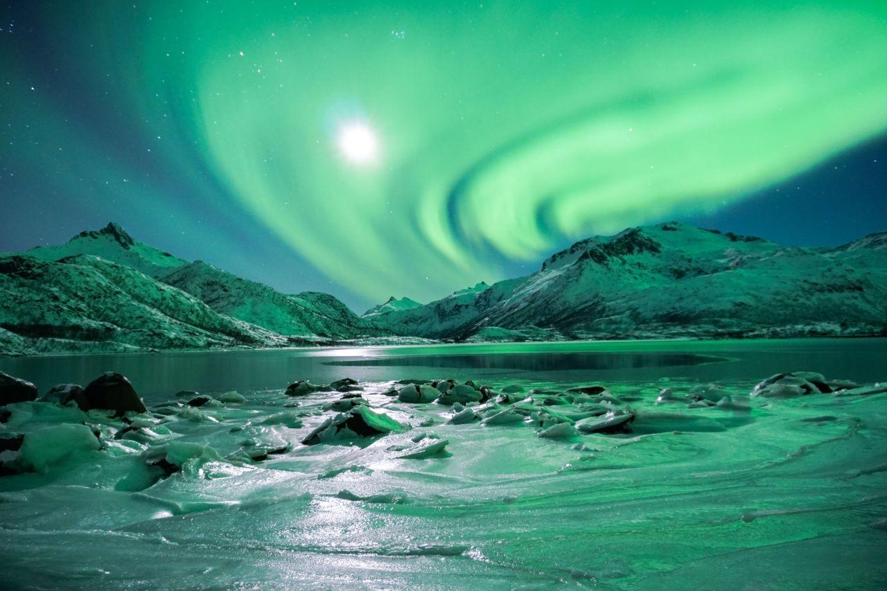 Nordlicht bei Entdeckertour von Natours Reisen