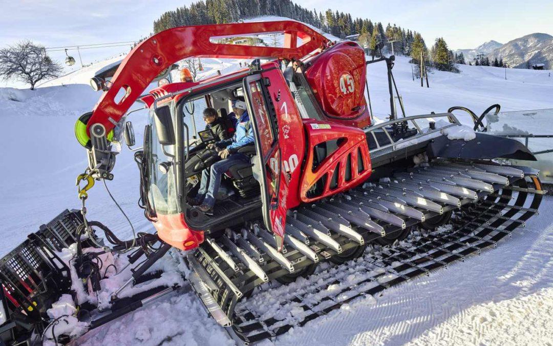 Pistenraupen-Touren in der SkiWelt Söll