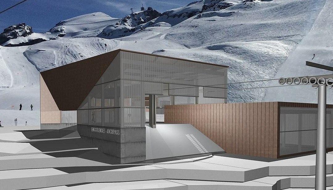 Neue 6er-Sesselbahn im Skigebiet Engelberg-Titlis