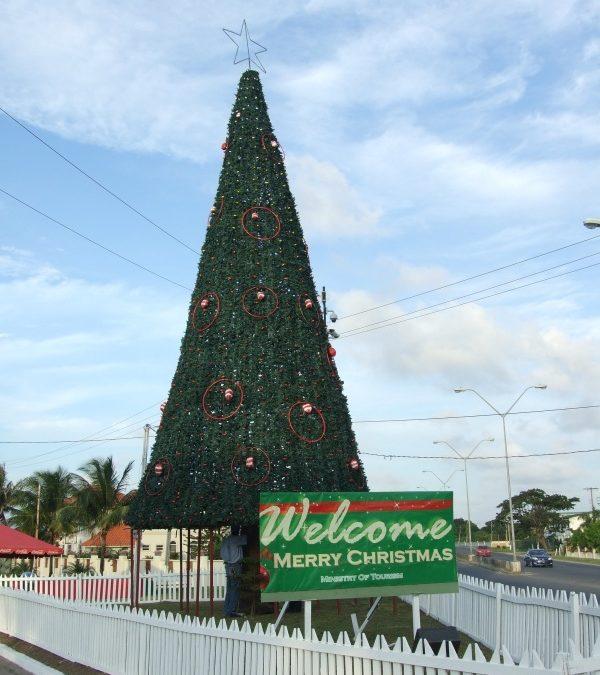Guyana: Großes Reinemachen zu Weihnachten