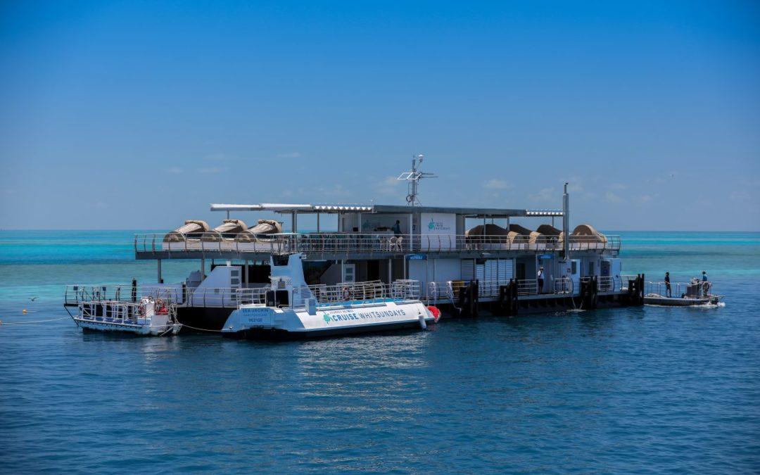 Erste Unterwasser-Unterkunft Australiens am Great Barrier Reef eröffnet