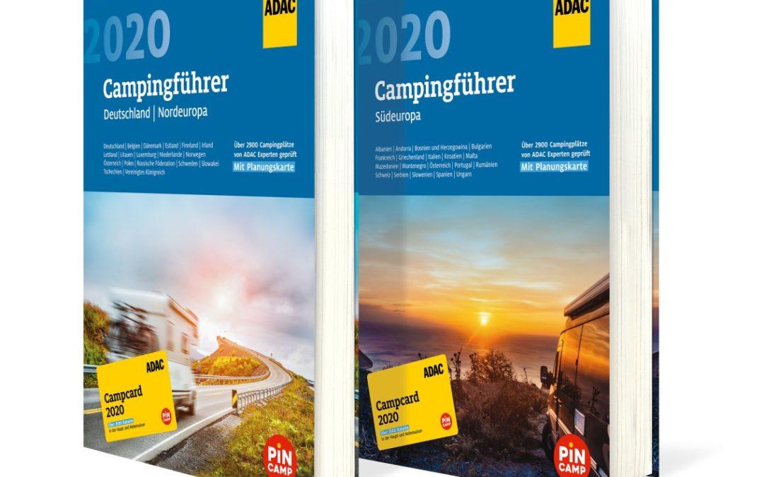 ADAC präsentiert Campingführer 2020 für Nord- und Südeuropa