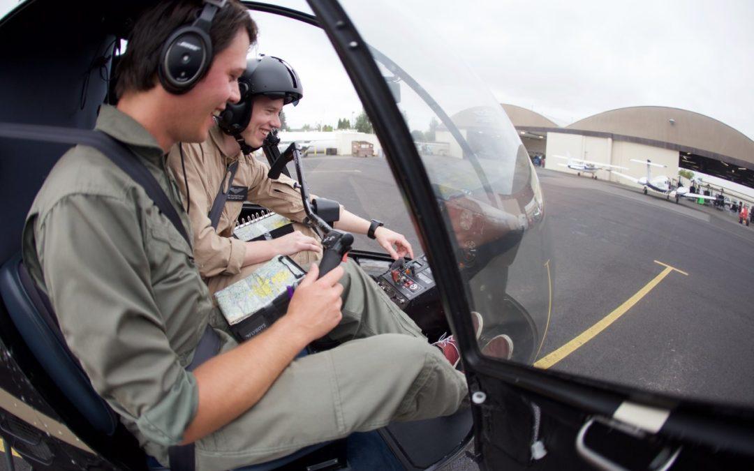 ADAC Flugrettung bildet Hubschrauberpiloten in den USA aus