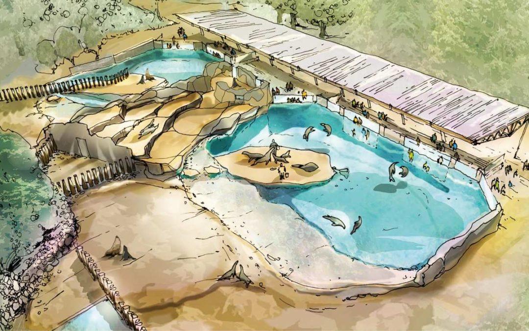 Neue Anlage für Robben im Rostocker Zoo