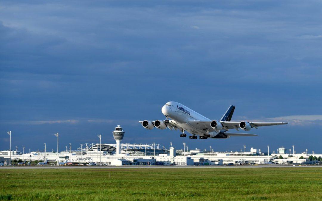 Flughafen München: fast 48 Millionen Passagiere im Jahr 2019