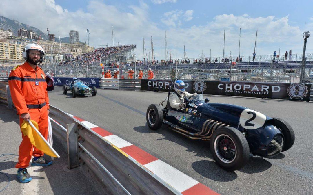 Formel 1 Oldtimerrennen 2020 im Fürstentum Monaco
