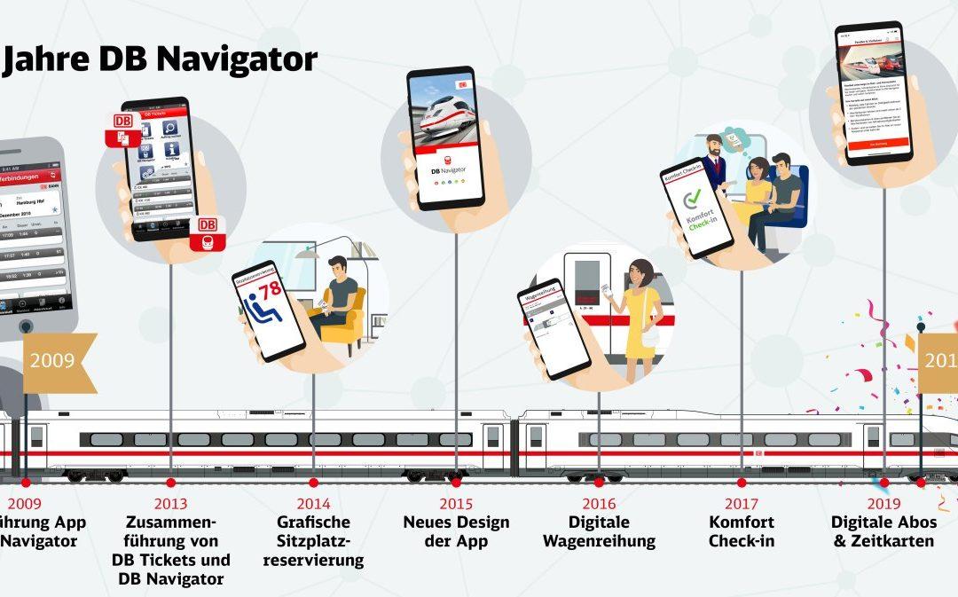 DB-Navigator App Deutschlands Nummer 1 unter den Reise-Apps