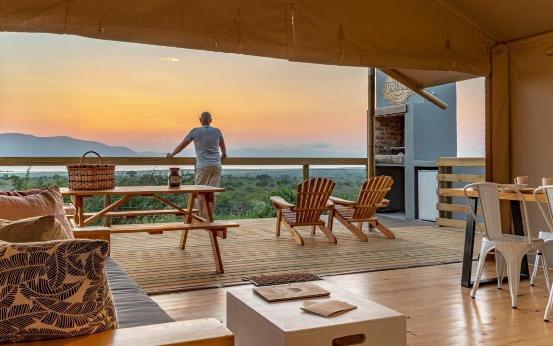 Neues Glamping-Zeltcamp im Pongola Game Reserve in KwaZulu-Natal