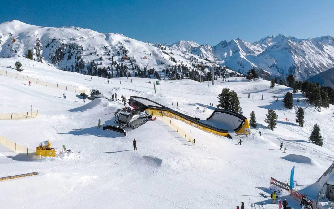 Einzigartige Luftkissenanlage für Freestyler im Zillertal