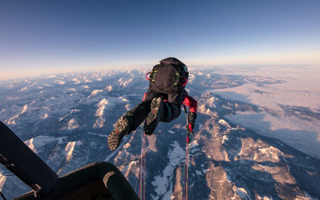 Gleitschirmflug-Weltrekord über dem Achensee von Mike Küng