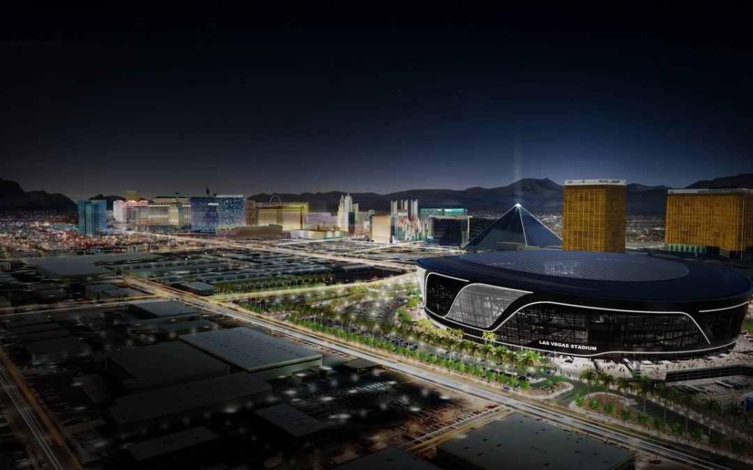 Neues Football Stadion in Las Vegas für die Oakland Raiders