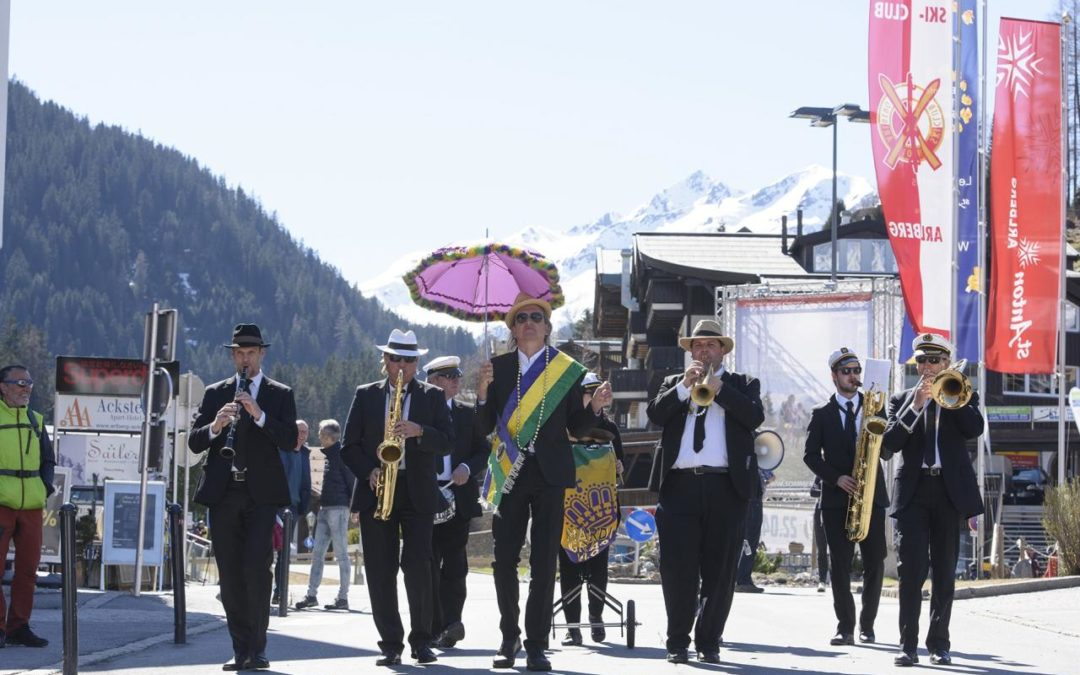 """New Orleans meets Snow""-Festival 2020 in St. Anton am Arlberg"