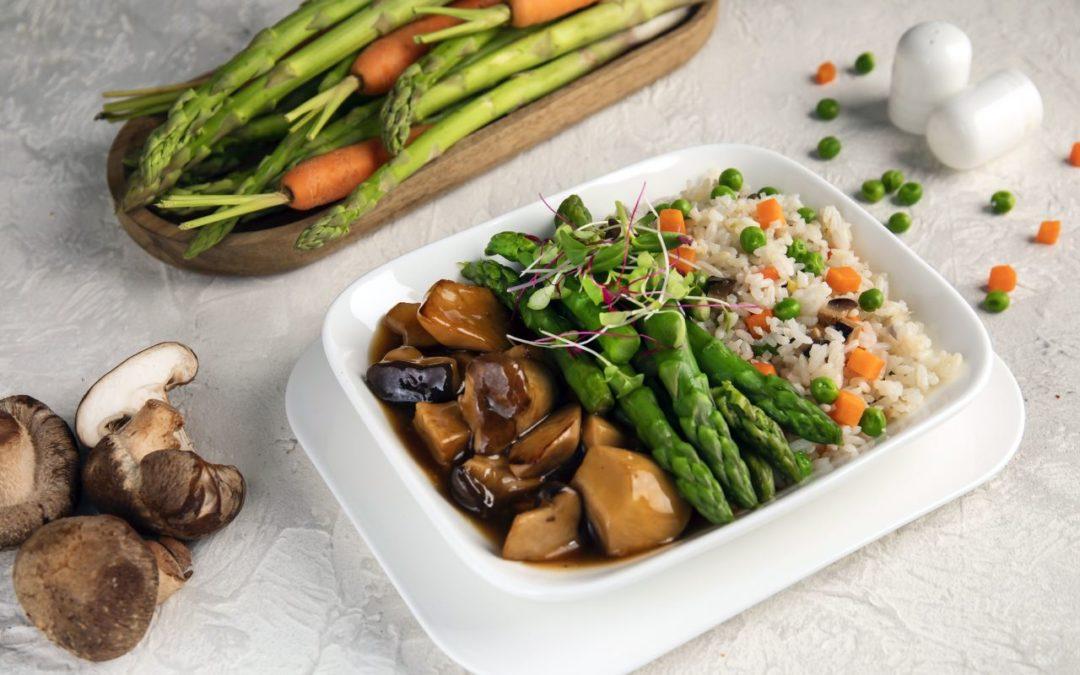 Vegane Menüs werden fester Bestandteil bei Emirates Menüoptionen