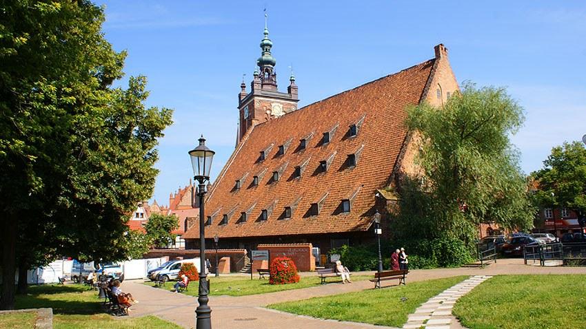 Mühle in Danzig wird Bernsteinmuseum