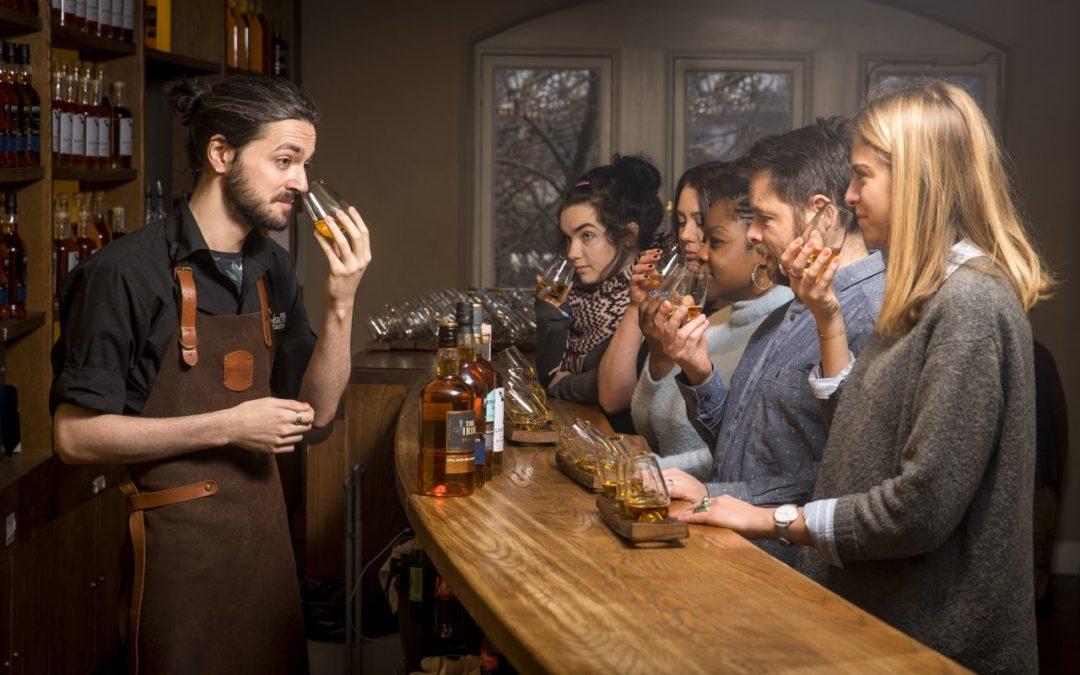 Irische Whiskey-Distillerien verzeichnen 2019 Rekordbesuch