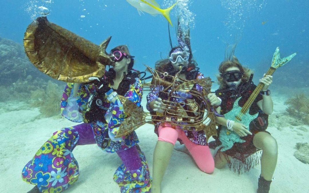 Florida: Umweltbewußtes Tauchen beim Underwater Music Festival