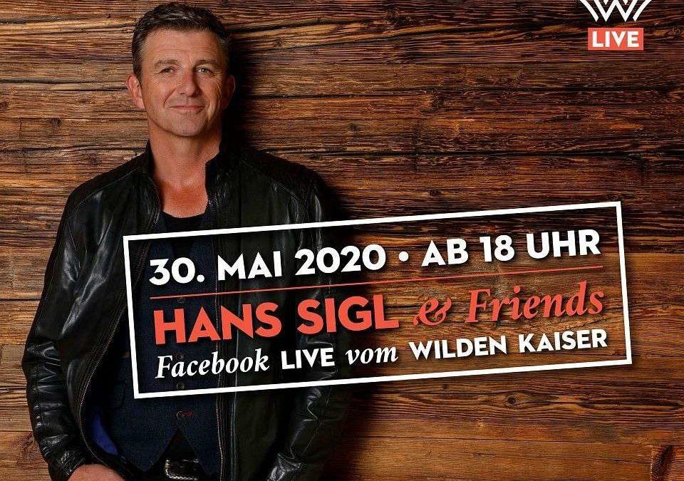 """Digitales Facebook Live-Event mit """"Bergdoktor"""" Hans Sigl"""