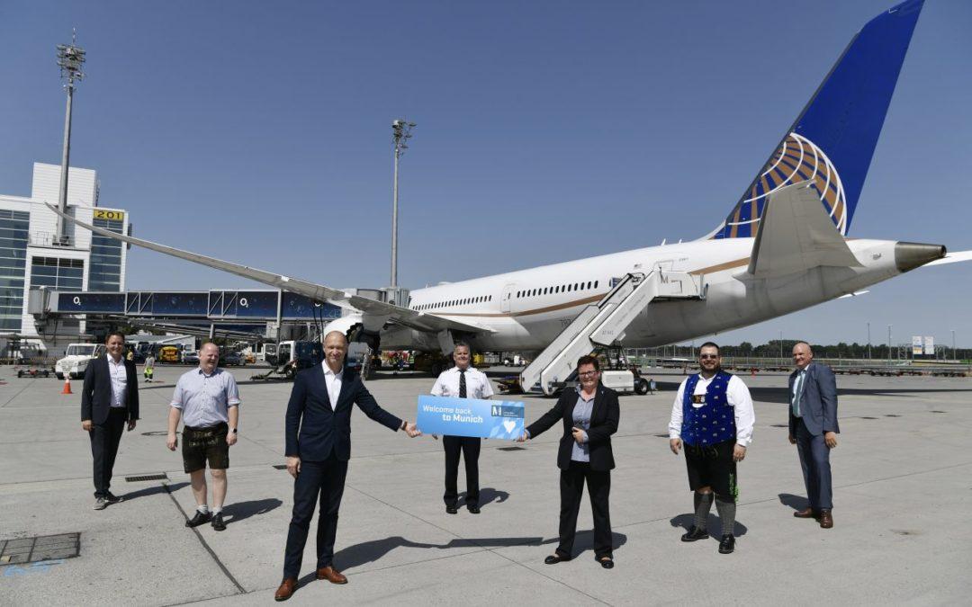 United Airlines nimmt Flugverbindung von München nach Washington wieder auf