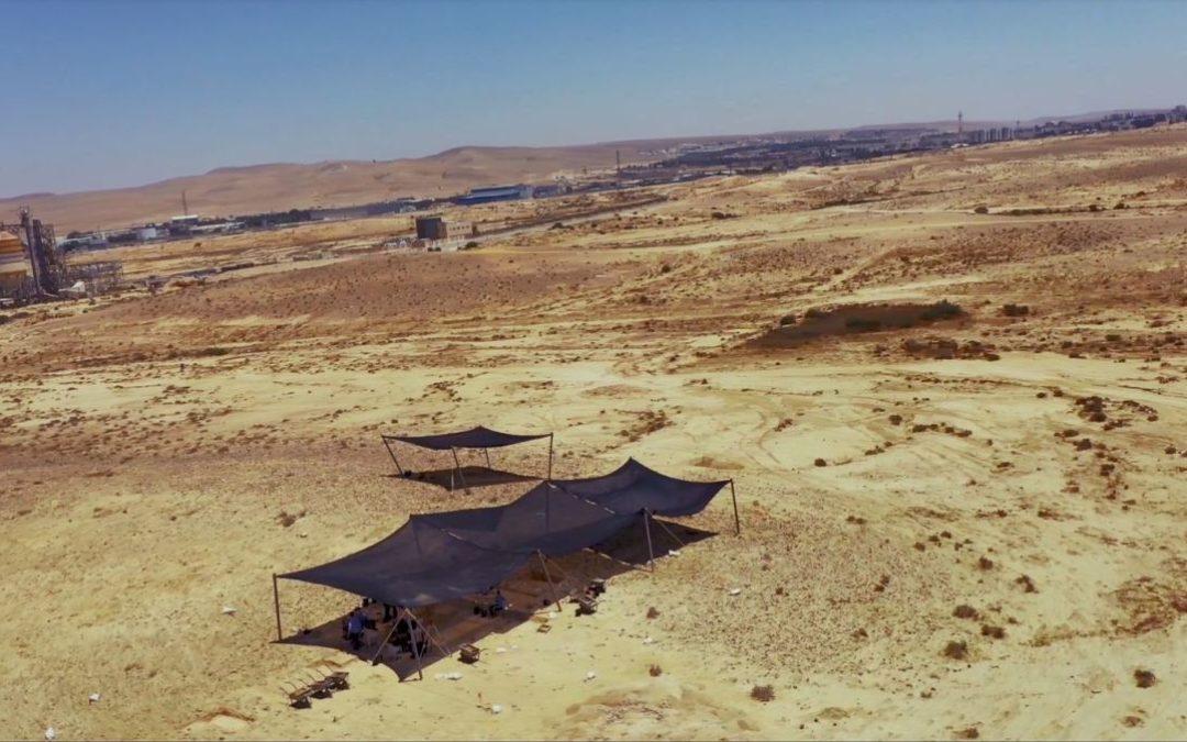 Archäologen finden altertümliche Werkzeuge in der Wüste Negev