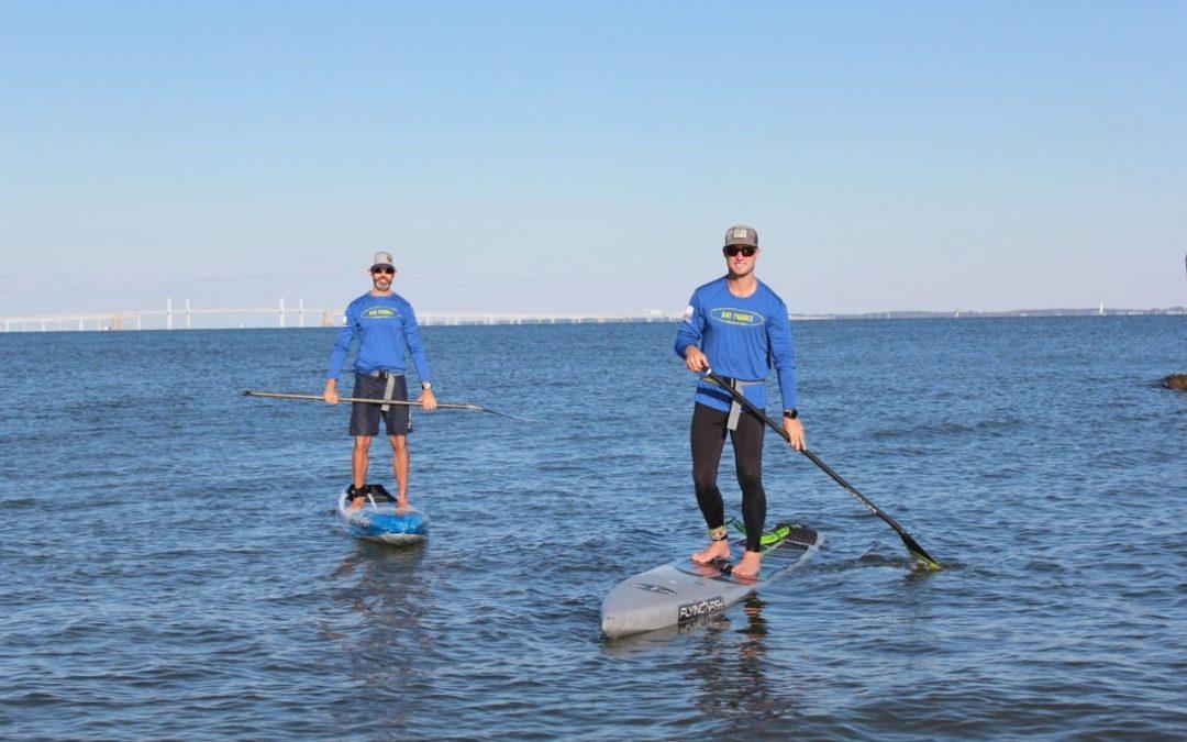 380 Kilometer Stand-Up-Paddling für mehr Austern in der Chesapeake Bay