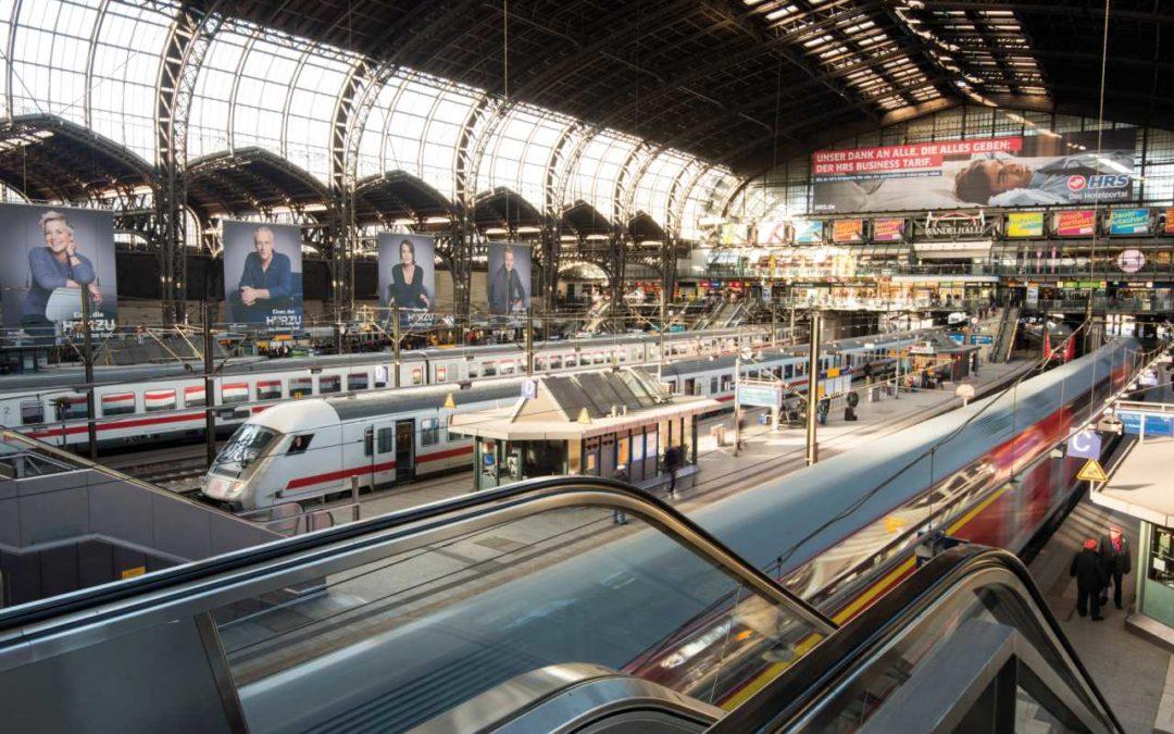 Deutsche Bahn verschönert bundesweit 167 Bahnhöfe