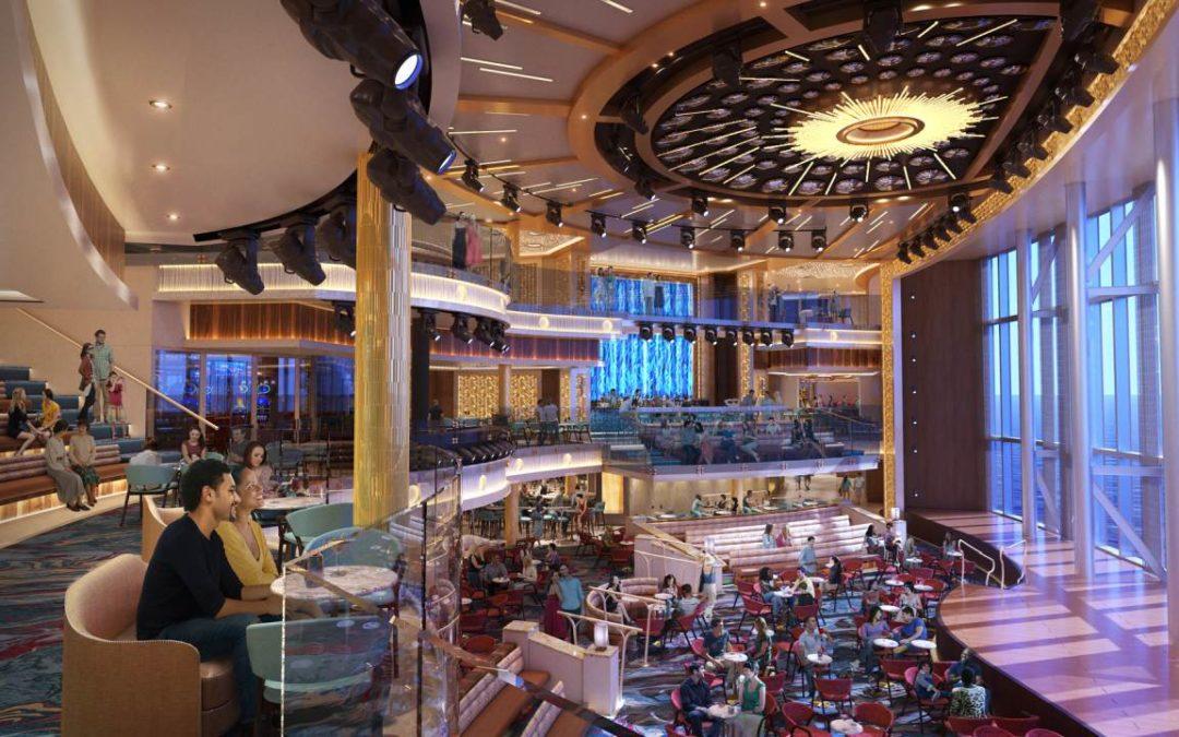 Kreuzfahrtschiff Mardi Gras erhält Atrium über drei Stockwerke