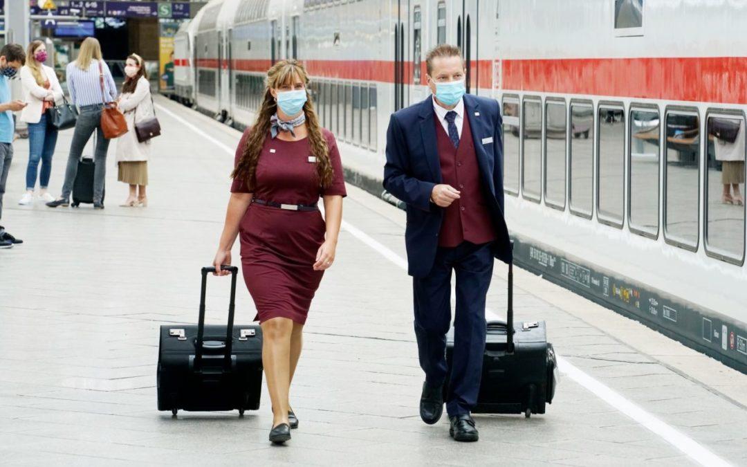 Studie: Zugbebleiter haben kein erhöhtes Corona-Risiko