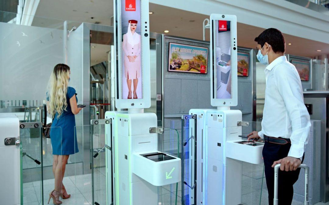 Emirates führt biometrischen Pfad am Flughafen Dubai ein