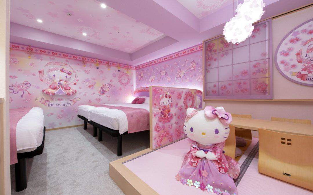 """Neues Hotel in Tokio bietet """"Hello Kitty-Zimmer"""""""