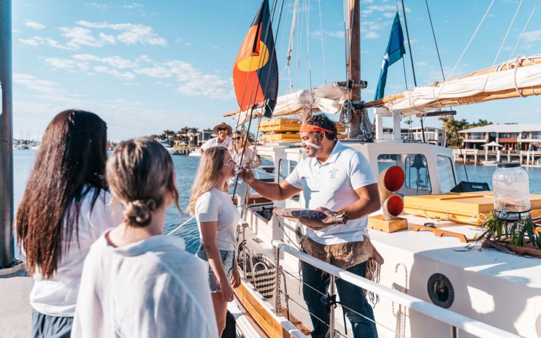 Segeltour mit australischem Ureinwohner an der Sunshine Coast