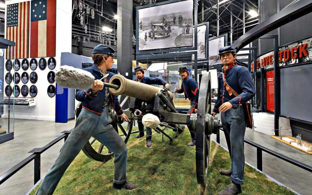 Geschichte der amerikanischen Armee in neuem Museum