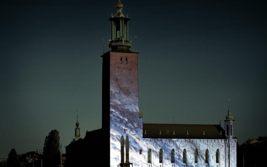 Stockholm: Lichtfestival Nobel Week Lights ehrt Nobelpreisträger