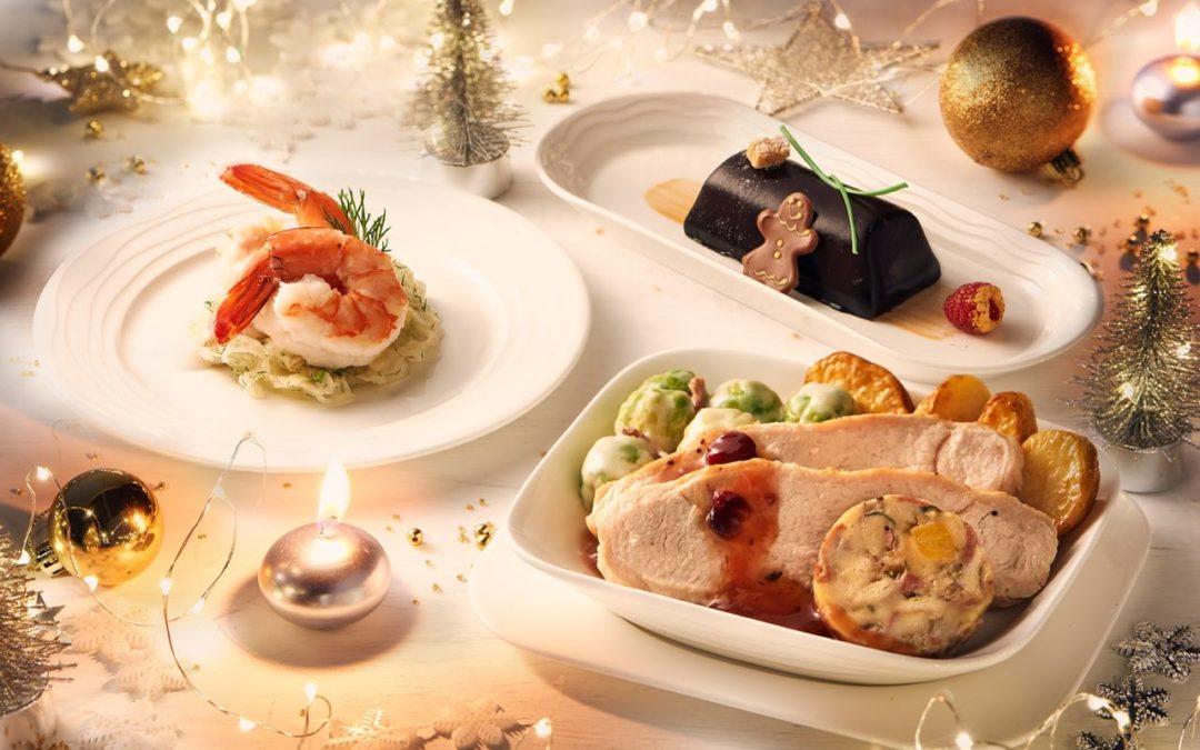 Emirates präsentiert Weihnachtsmenüs 2020