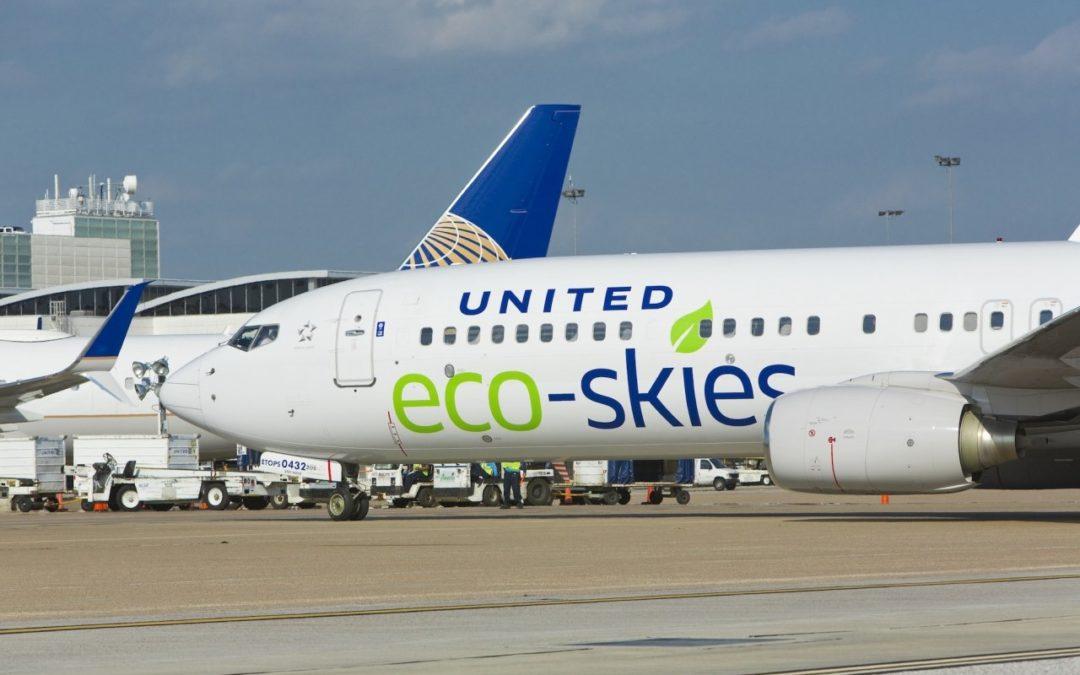 United Airlines will klimaneutral werden