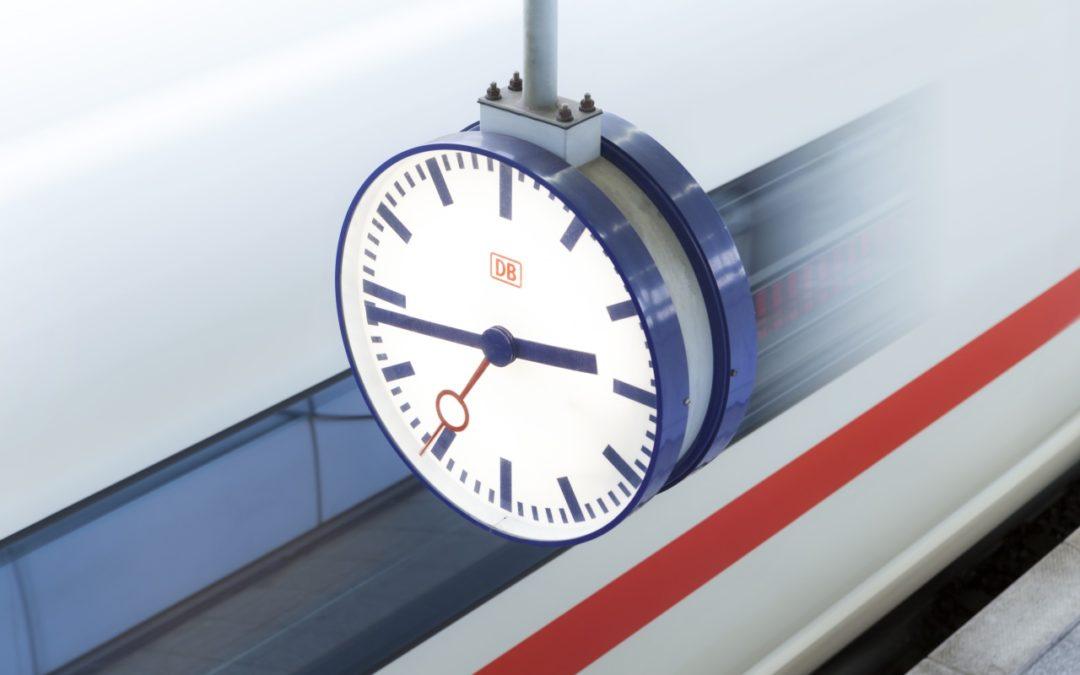 Corona verhilft Bahn zu bestem Pünktlichkeitswert seit 15 Jahren
