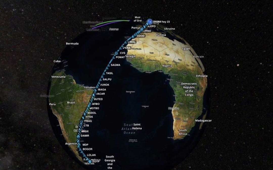 Längster Lufthansa-Flug führt von Hamburg auf die Falkland-Inseln