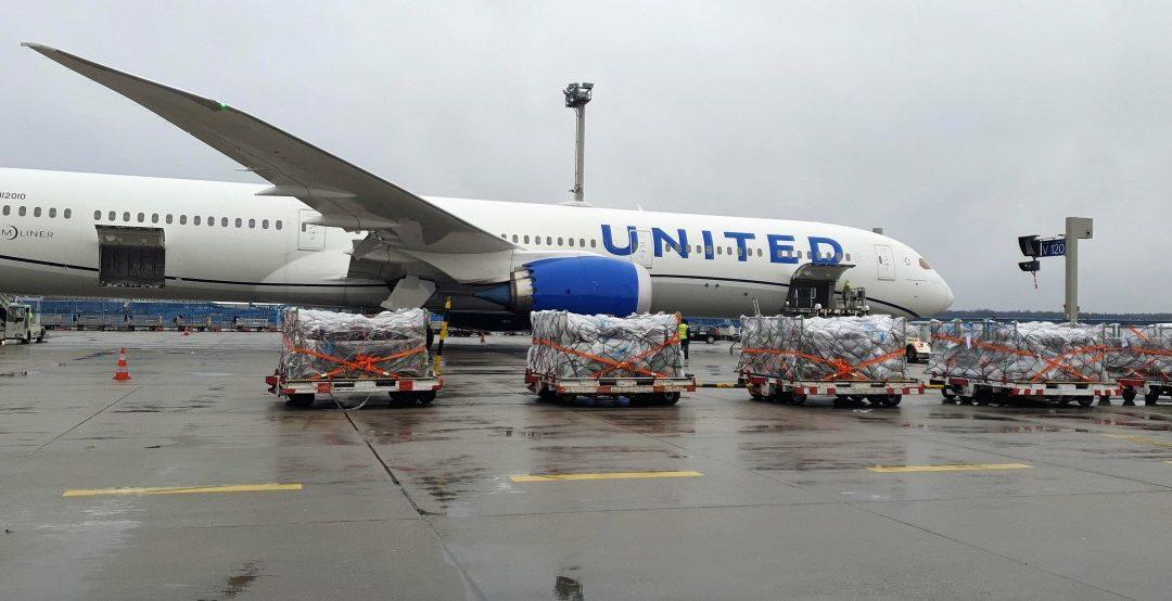 United Airlines: mehr Luftfracht aus Europa