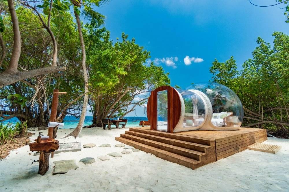 Glamping auf den Malediven