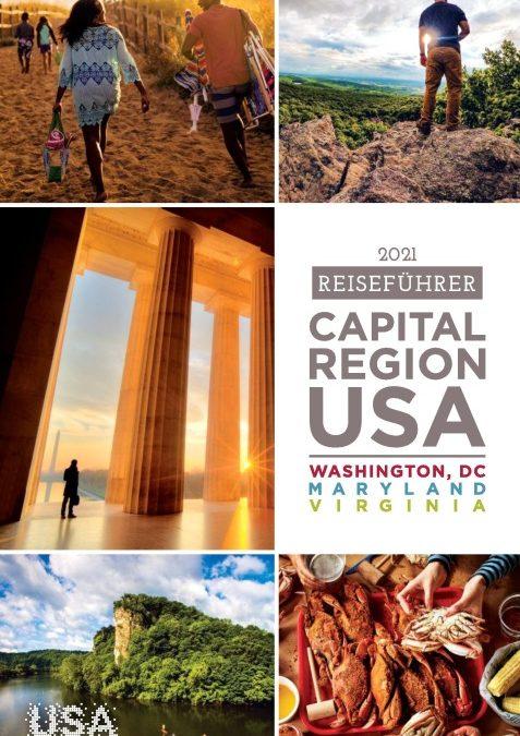 Neuer Reiseplaner für die Hauptstadtregion der USA