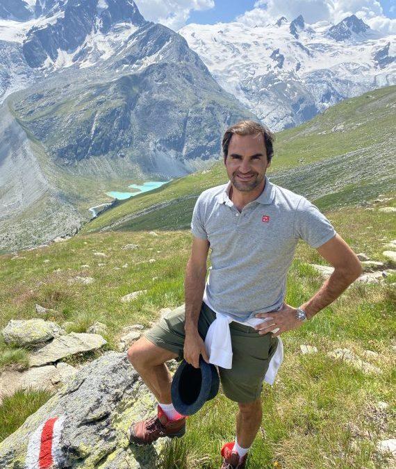 Roger Federer wirbt für die Schweiz