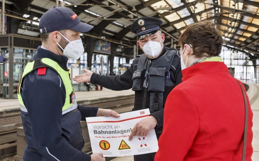 Aufklärungskampagne für mehr Sicherheit im Bahnbetrieb