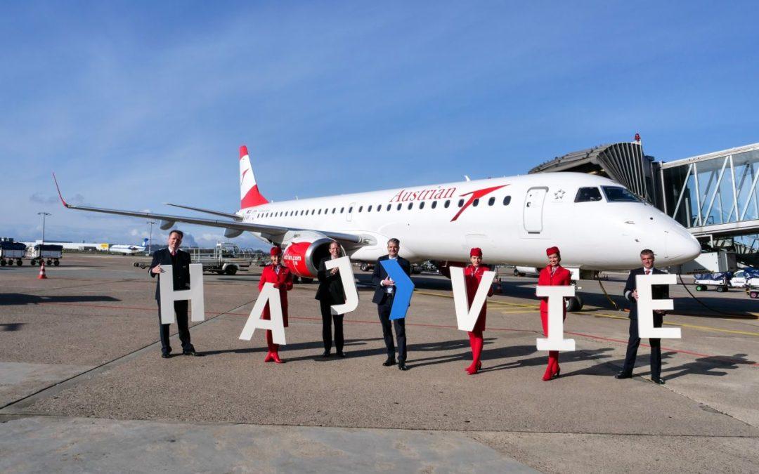 Austrian Airlines: neue Direktverbindung von Hannover nach Wien