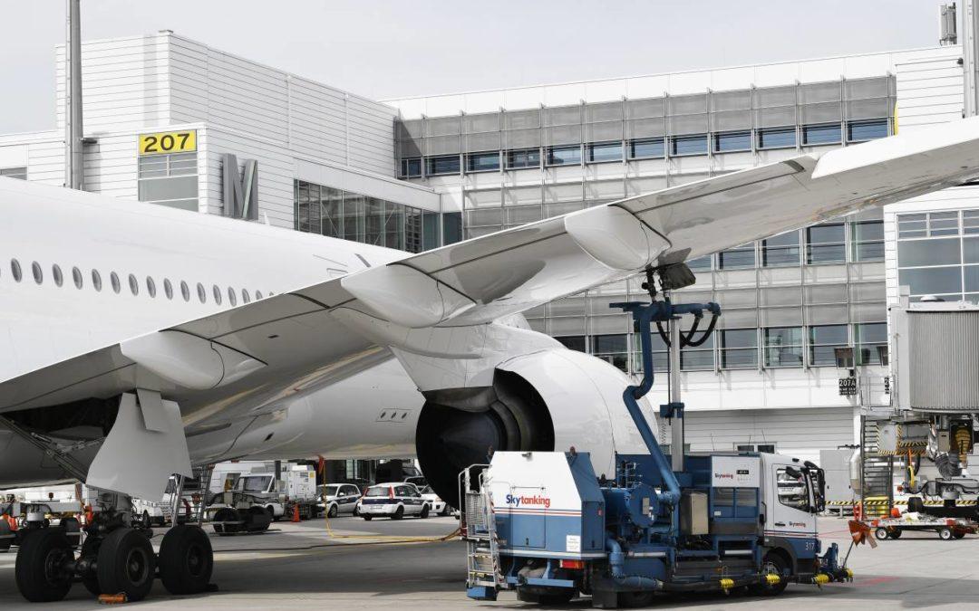 Klimafreundliches Kerosin am Flughafen München