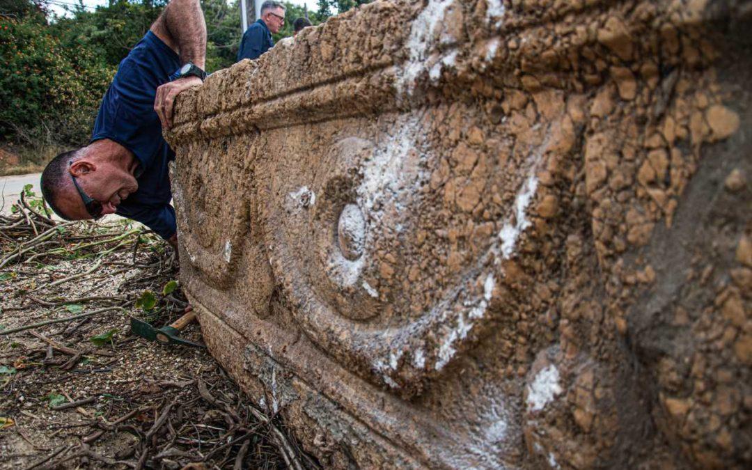 Sarkophage aus der Zeit der Römer im Safari-Park Ramat Gan gefunden