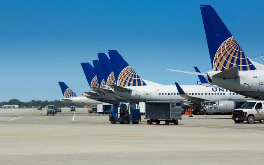 United Airlines: Flugvolumen steigt wieder deutlich an