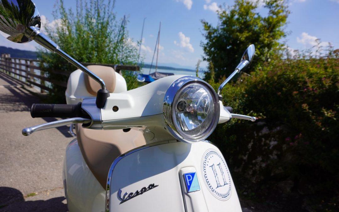 Vespa-Touren um den Starnberger See