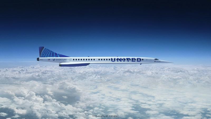 United Airlines plant Comeback von Überschallflügen